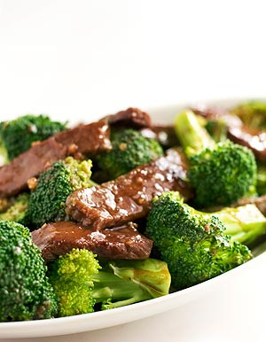 raw food diet beef and broccoli