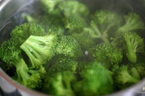 Raw food diet broccoli
