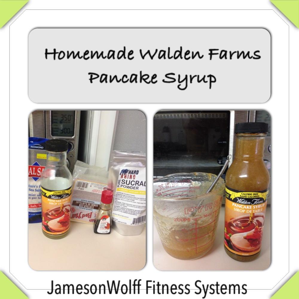 Homemade Walden Farms Pancake Syrup
