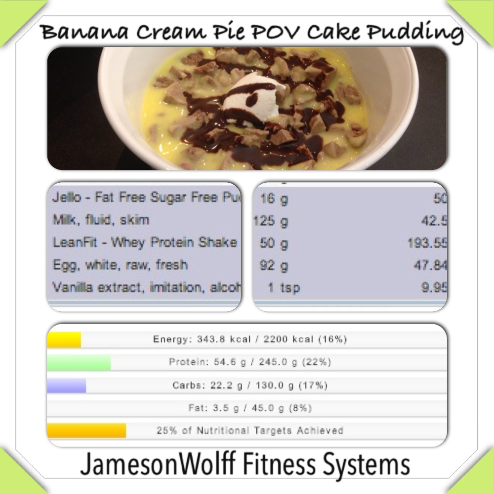Sugar Free Fat Free Jello Pudding Mix